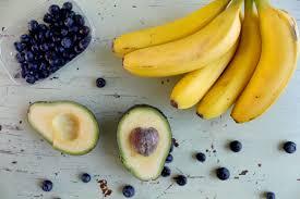 Mascarilla Facial Natural de plátano y aguacate